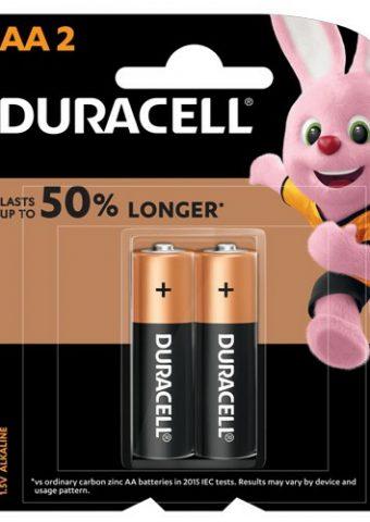 Pin Alkaline AA Duracell vỉ 2 viên - Pin Giá Rẻ